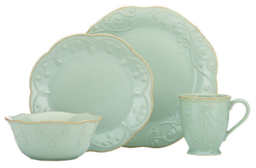 2 Lenox French Perle 4 Piece Place Setting