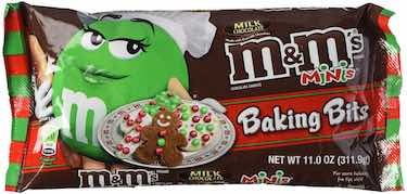 M&M's Christmas Baking Bits