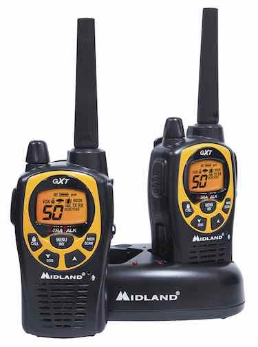 Midland 36-Mile 50-Channel GMRS Two-Way Radio