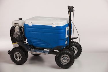 Crazy Coolers Motorized Cooler