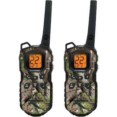 Motorola MS355R FRS Waterproof Two-Way - 35 Mile Radio Pack