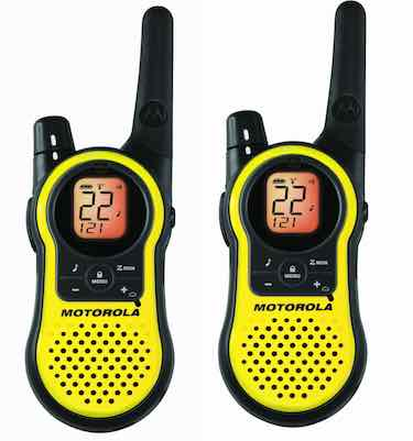 Motorola 23-Mile Range 22-Channel FRS/GMRS Two-Way Radio