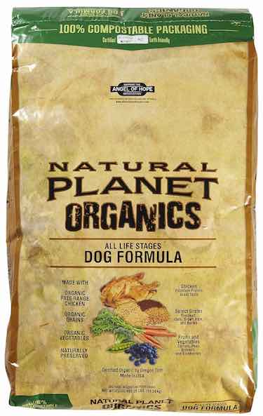 Tuffy Natural Planet Organics Chicken Food