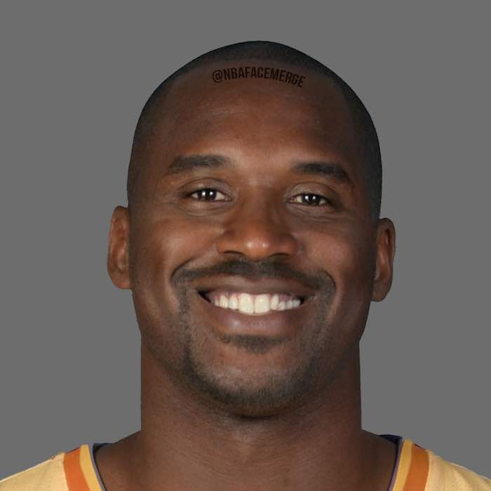 Shaquille O'Neal and Kobe Bryant - Face Morph