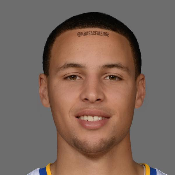 Stephen Curry and Klay Thompson - Face Morph