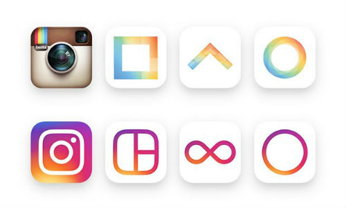 New vs. Old Instagram Logos