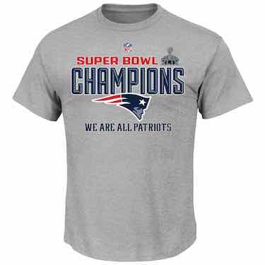 Offcial Patriots Super Bowl Shirt