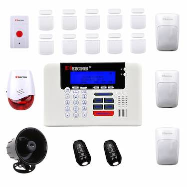 PiSector 4G Cellular GSM Wireless Security Alarm System