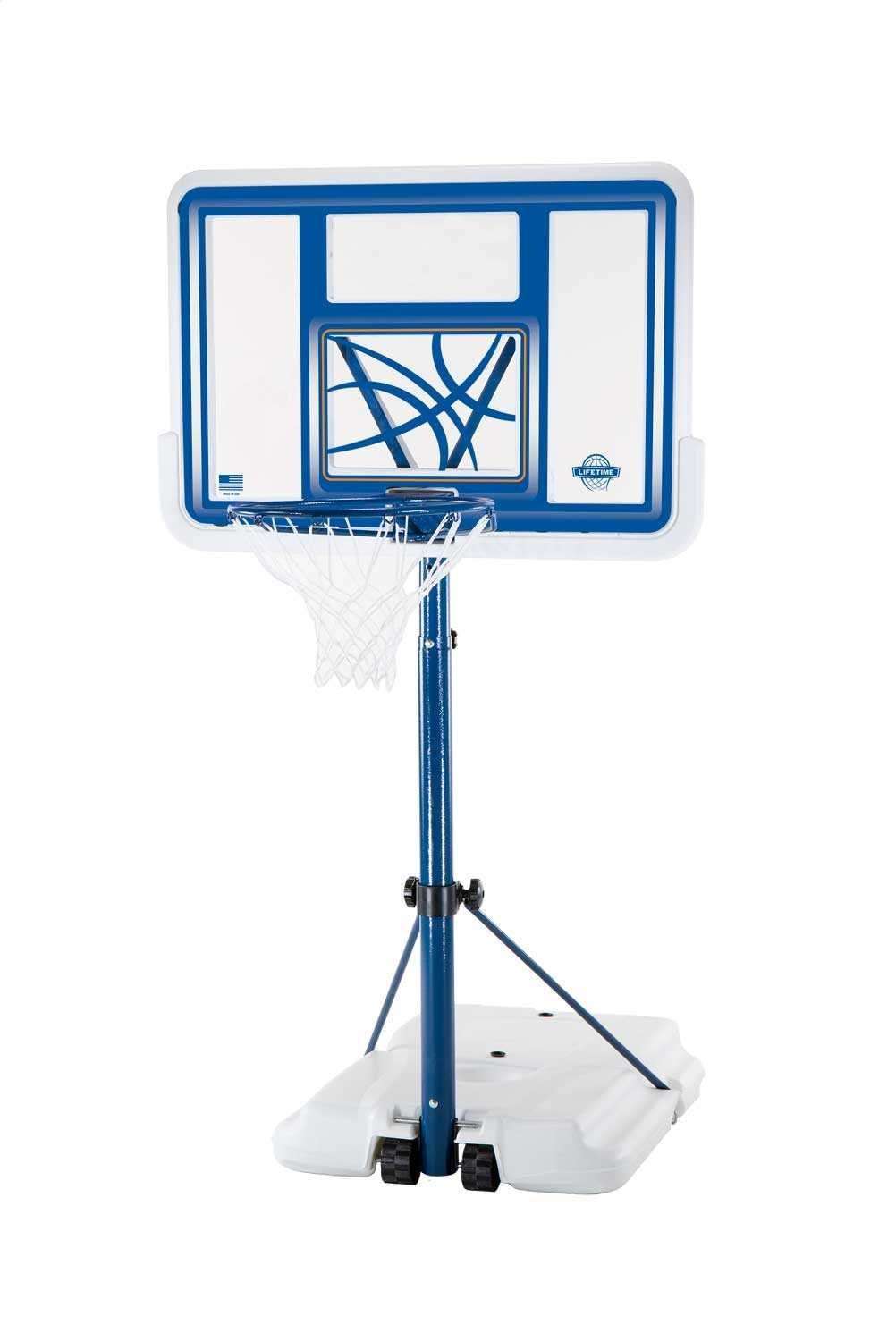 Poolside Basketball Hoop