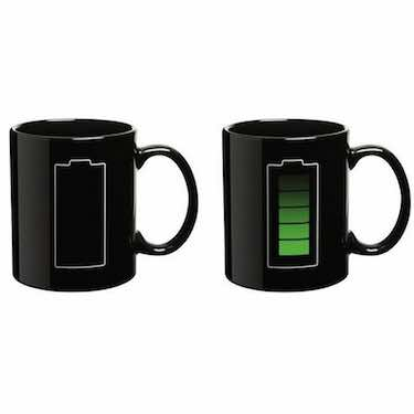 Heat Sensitive Color-Changing Mug - funny coffee mugs