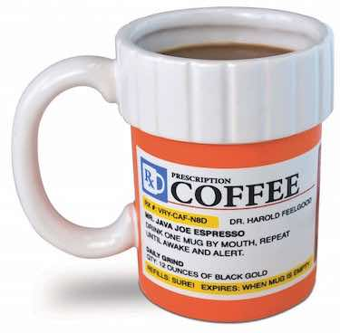 Prescription Coffee Mug- funny coffee mugs