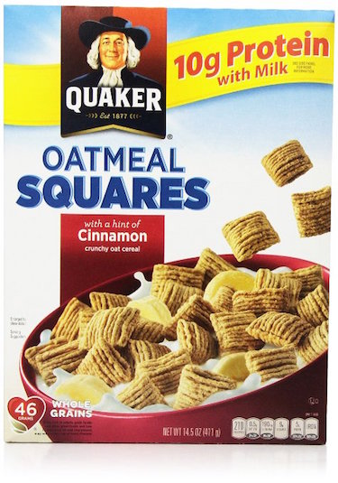 Quaker Cereal Oatmeal Squares