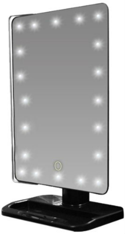Rucci LED Lighted Movable Vanity Mirror