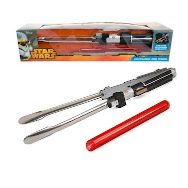 Lightsaber BBQ Tongs with Sounds