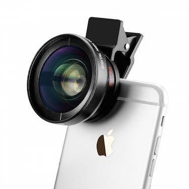 5894afac5935b3 1) TECHO Universal Professional HD Camera Lens Kit for iPhone