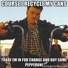 Rickyisms on Recycling