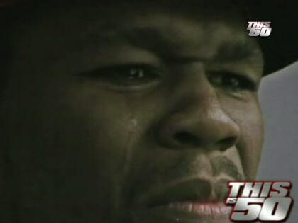 50 cent crying