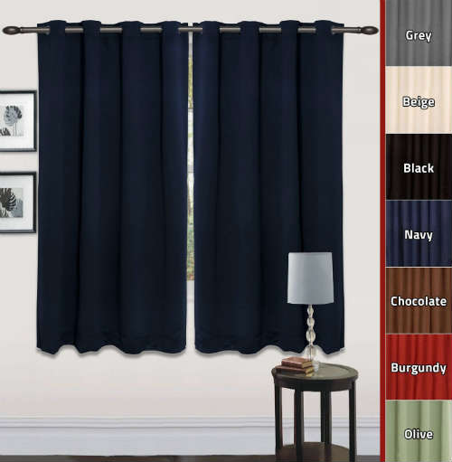 Utopia Bedding Room Darkening Curtains