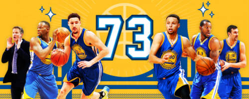 Warriors break record with 73 wins