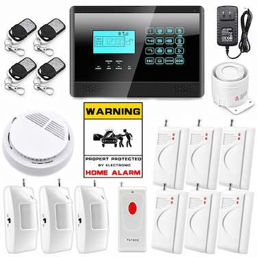 Wolf-Guard Wireless Security Alarm System